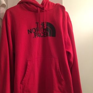 The North Face hoody men's large